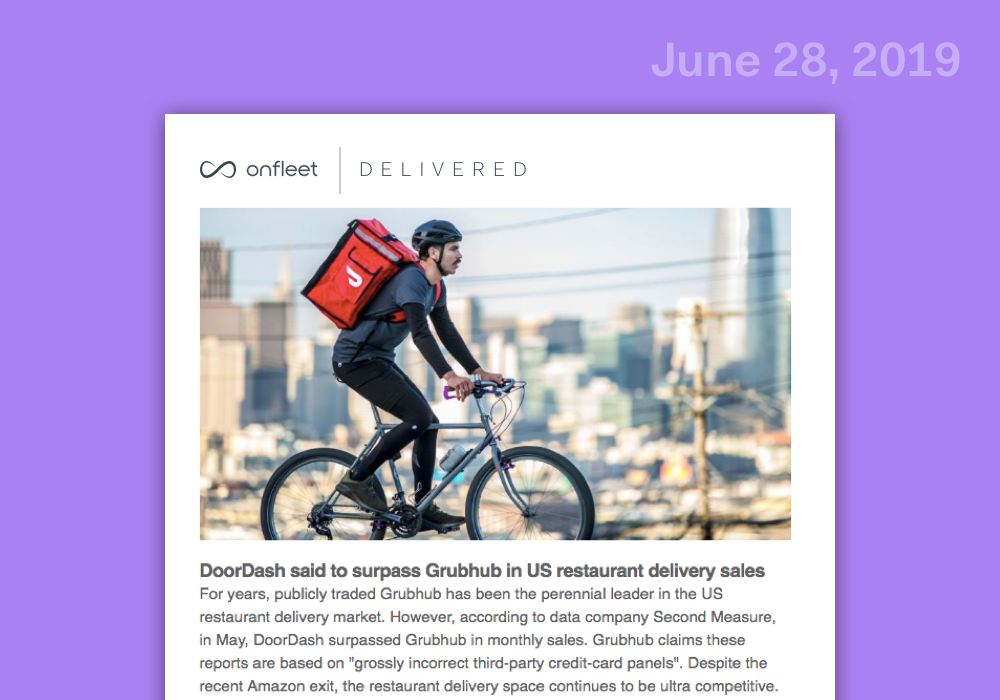Delivered: Industry Roundup