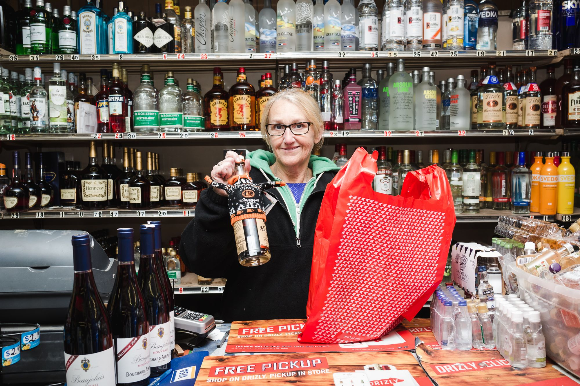 Customers appreciate Drizly delivery for beer, wine, and spirits favorites