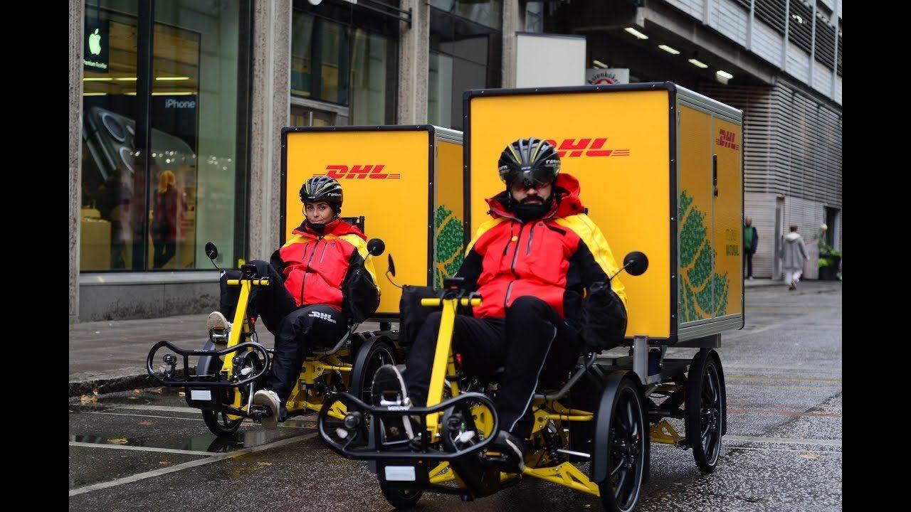 DHL Pilots E-Cargo Bikes in Miami