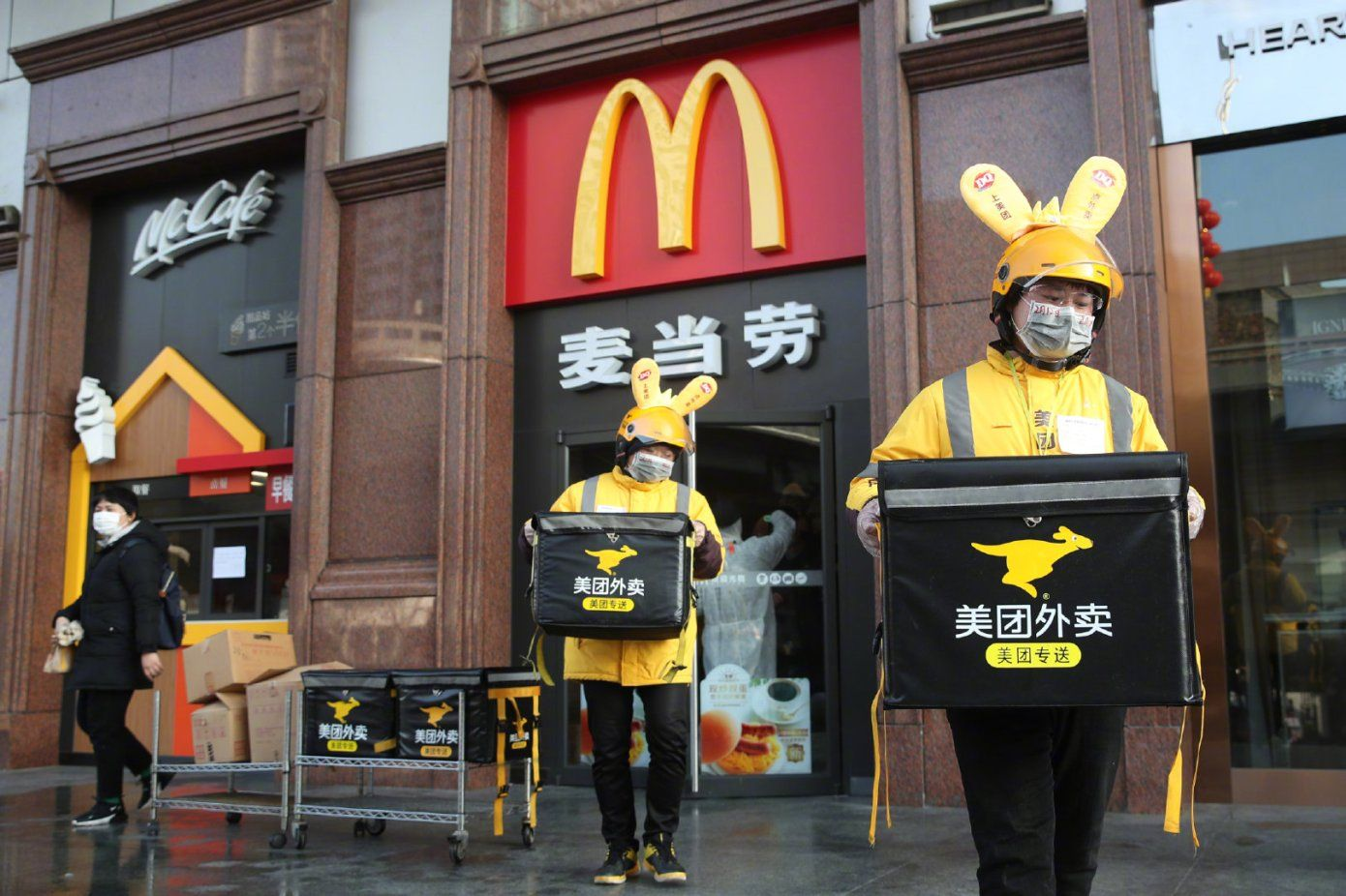China Food Delivery Giant Meituan gets $100B valuation in pandemic