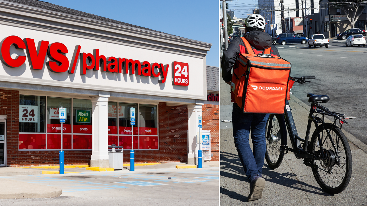 CVS expands home delivery with DoorDash