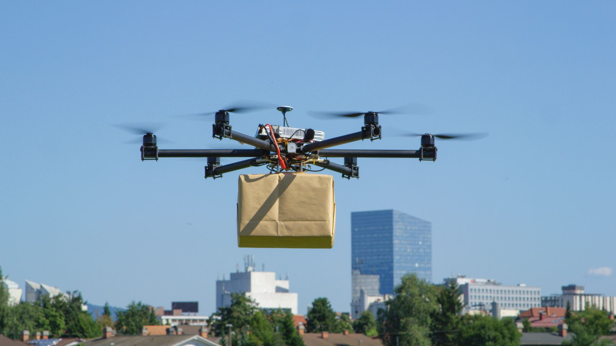 Testing Last Mile Drone Delivery