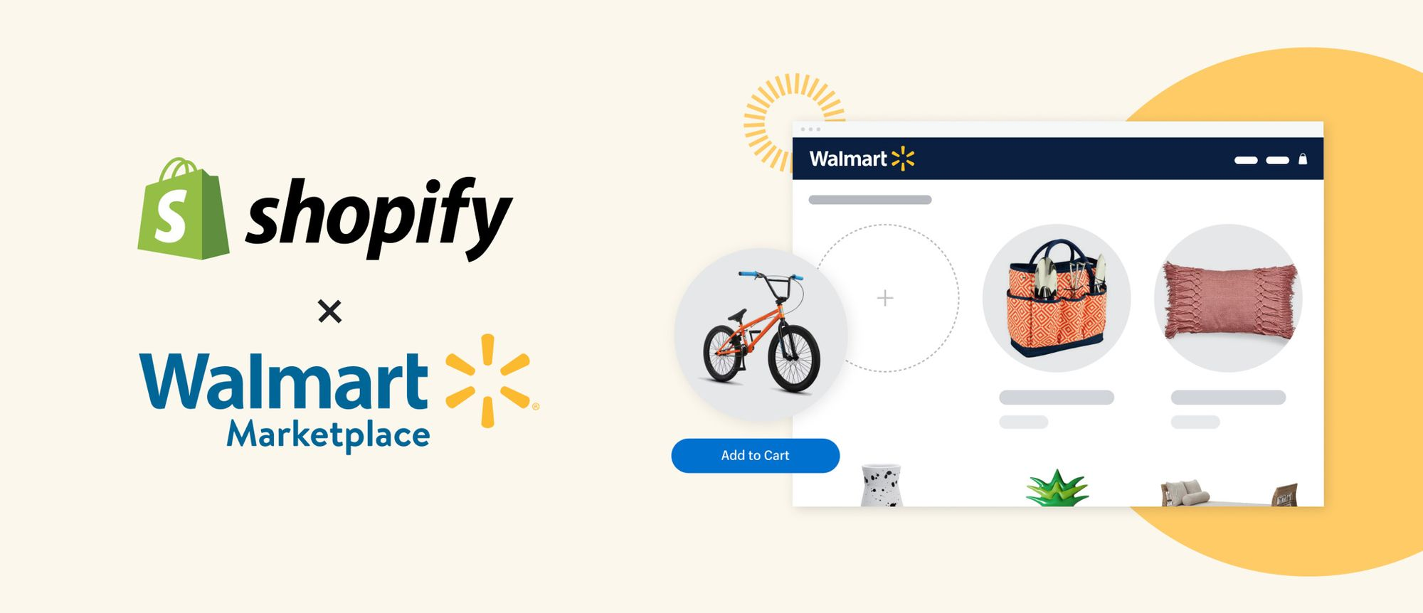 Shopify and Walmart partner