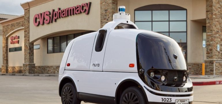 CVS pilots driverless delivery