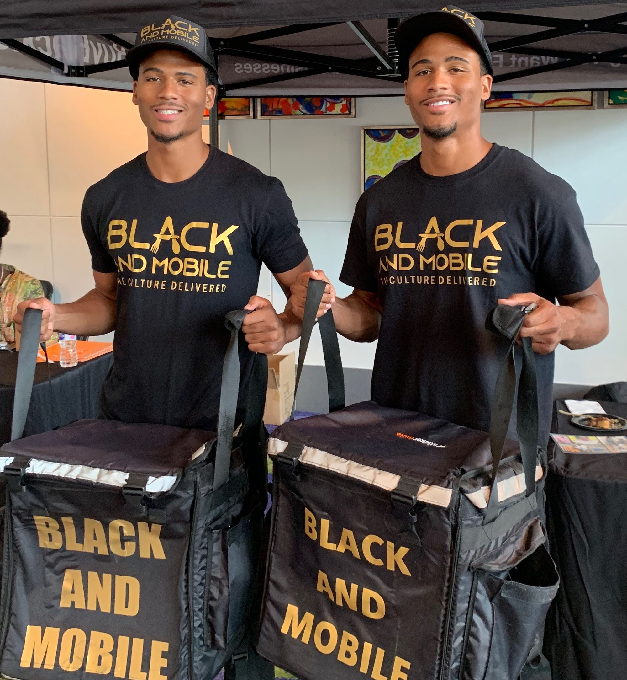 Black and Mobile's twin founders