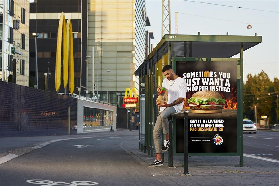 Burger King uses delivery tech to lure customers away from McD's