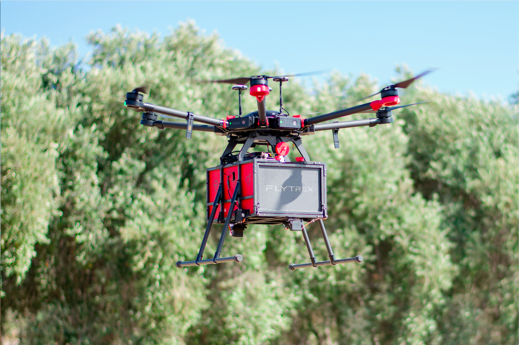 Icelandic Flytrex drone delivery enters US in FAA pilot program