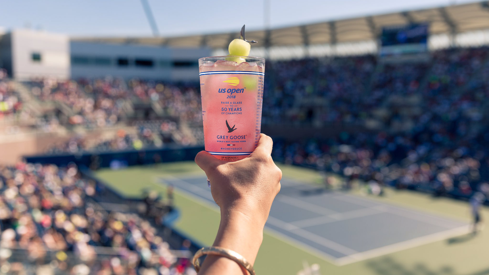 In a partnership with ESPN, the US Open signature cocktail can be in your hands in less than 30 minutes in a half dozen metro areas nationwide