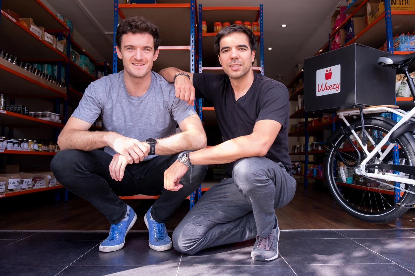 London-based Weezy raises seed for 15-minute grocery delivery app