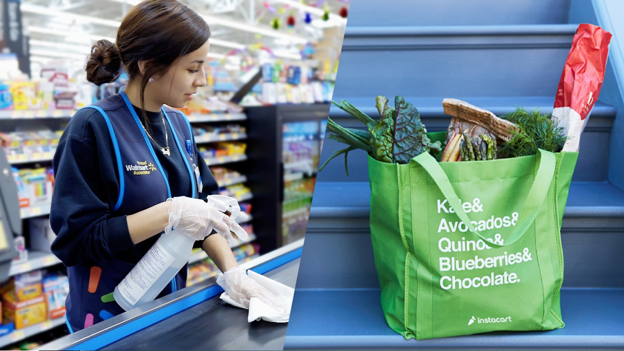 Walmart teams up with Instacart for same-day deliveries