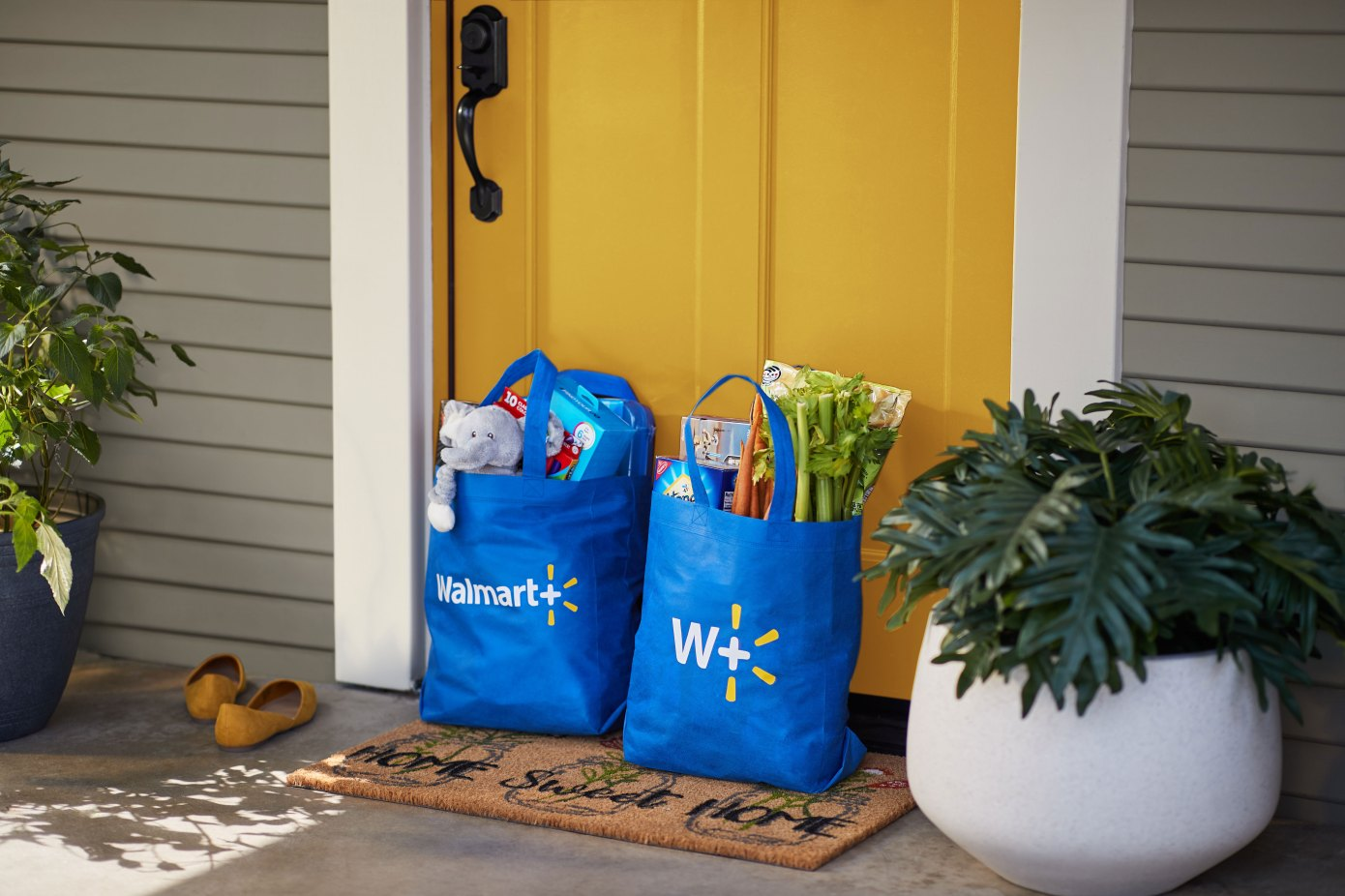 Walmart+ focuses on delivery