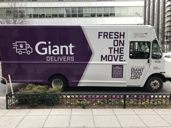 Giant Food expands grocery delivery options