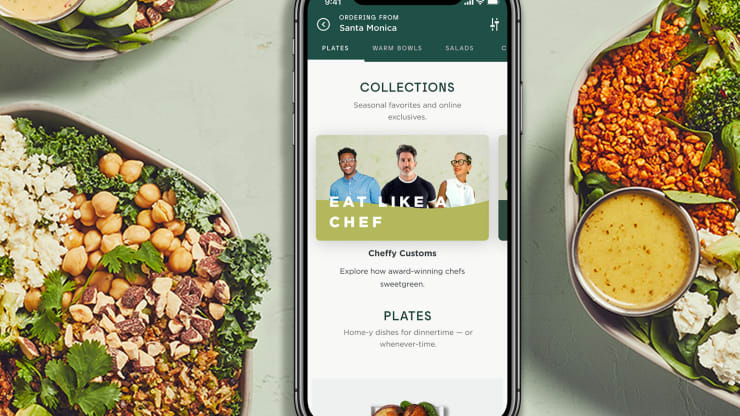 Sweetgreen launches online-only menu items as it pushes into digital