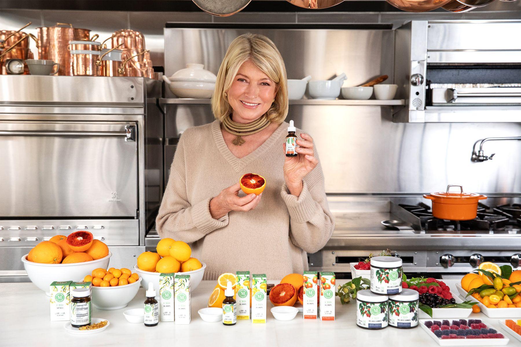 Martha Stewart Gummies Spur CBD's Mainstreaming