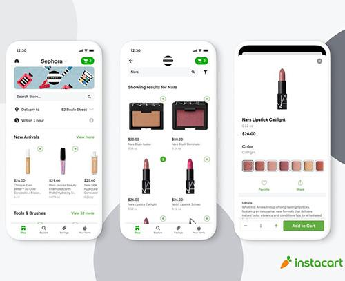 Sephora launches same-day delivery via Instacart