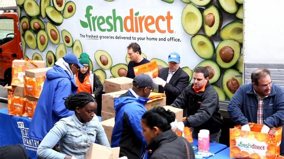 FreshDirect shares office space with nonprofit NY Common Pantry