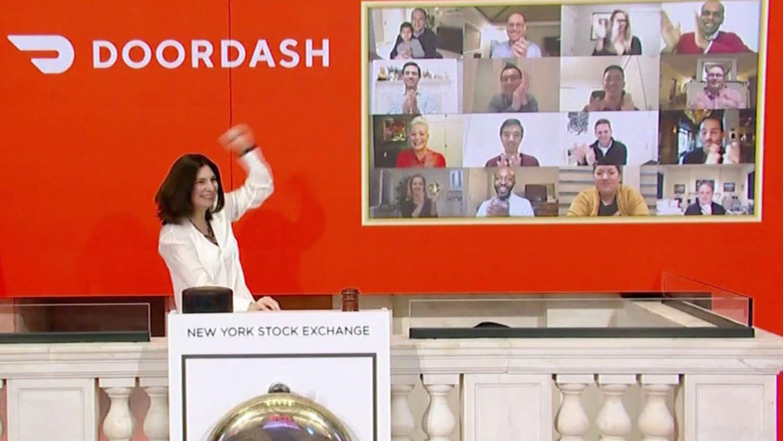 DoorDash skyrockets in market debut