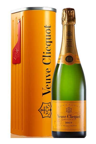 Nobody doesn't like a bottle of the Veuve from Drizly!