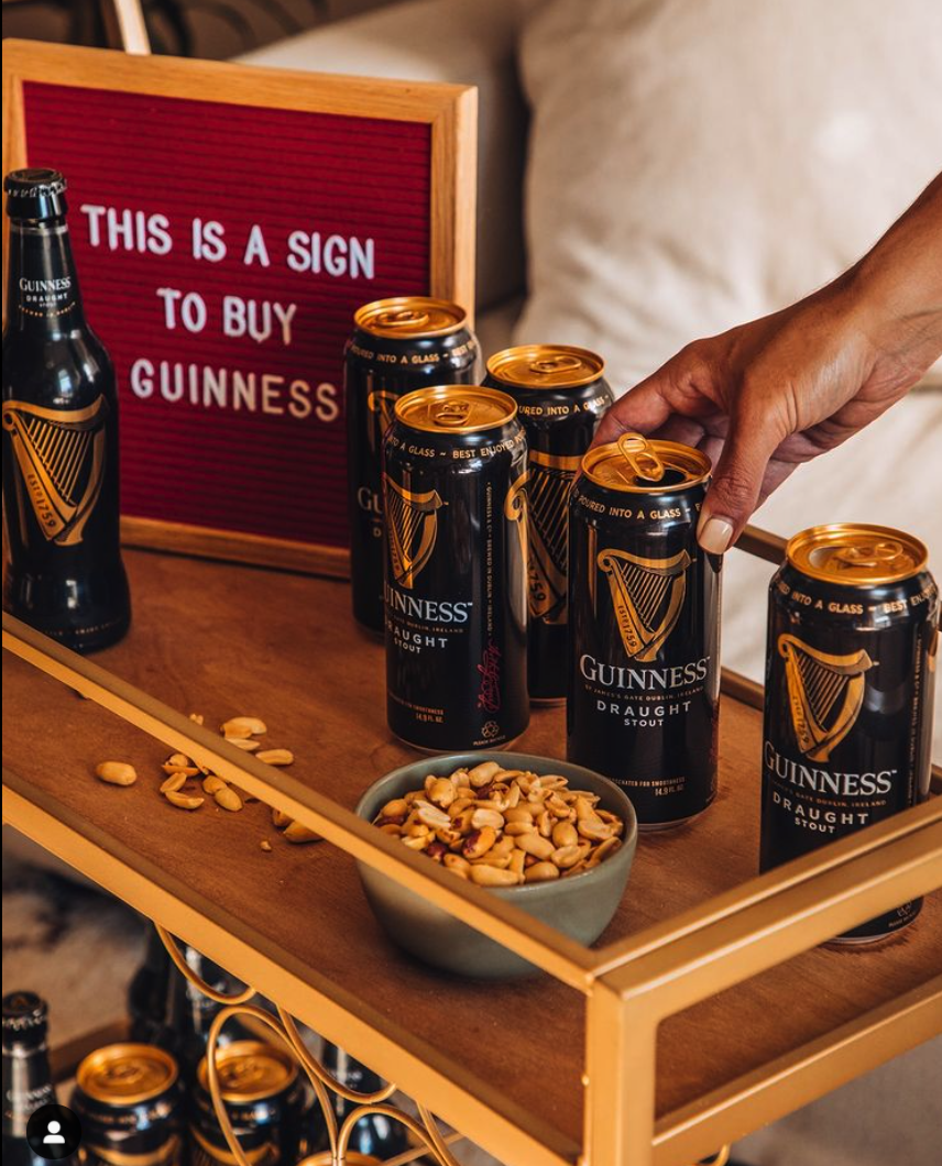 Drizly can get your Guinness to you in 30 minutes or less