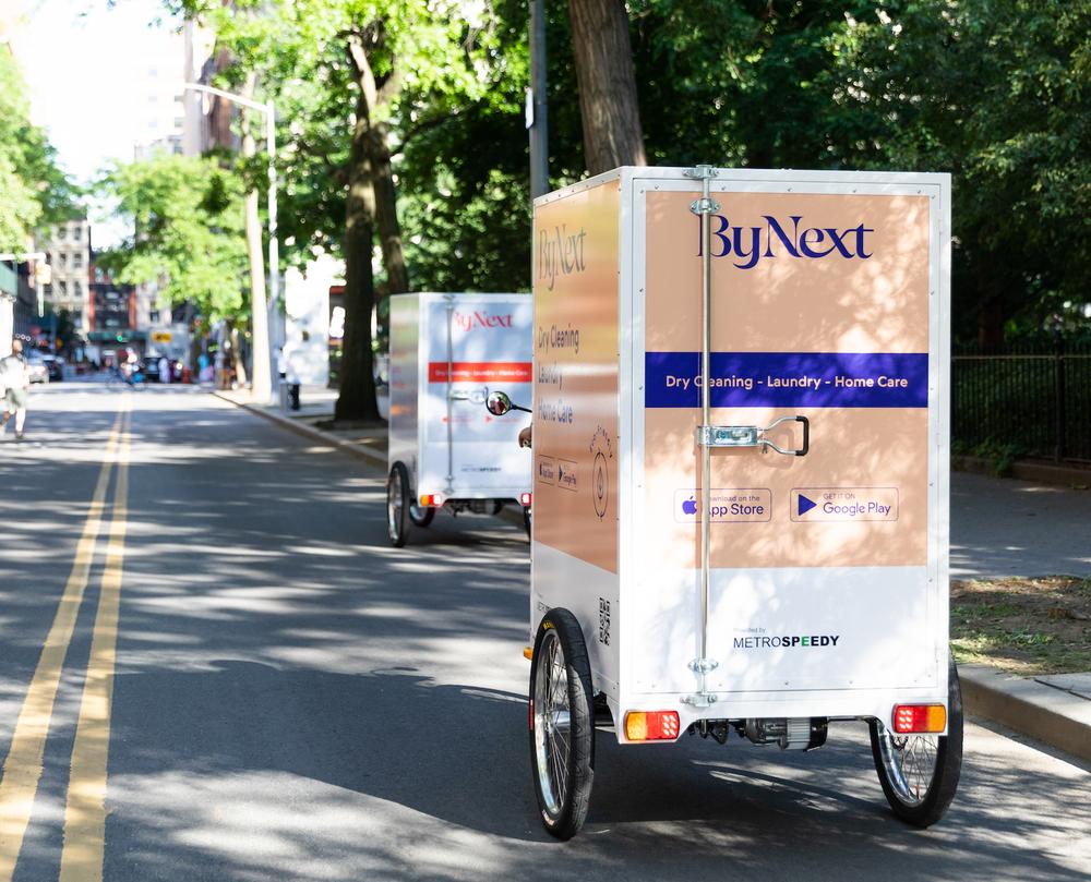 MetroSpeedy's specially designed cargo tricycles