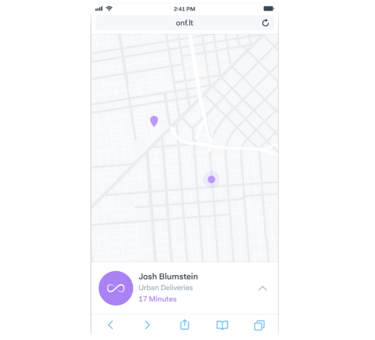 Customers expect full insights on their deliveries