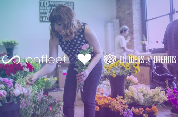 With Onfleet, Everything's Coming Up Roses for Flowers for Dreams
