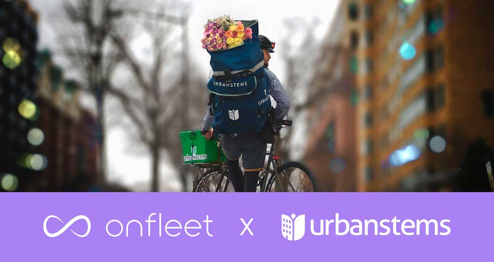 UrbanStems Fresh Flower Delivery, Powered by Onfleet 💐